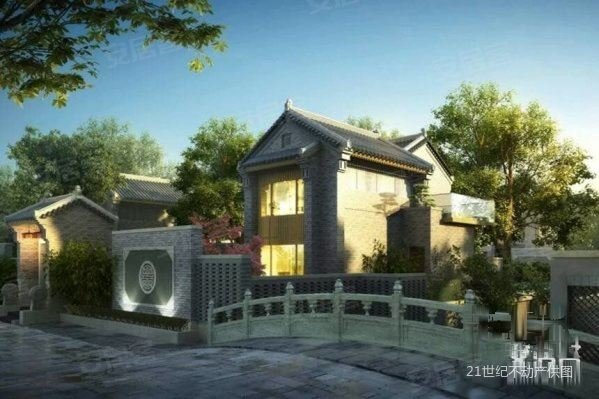 西安院子 豪宅纯中式小院 独栋别墅三倍 温泉入户