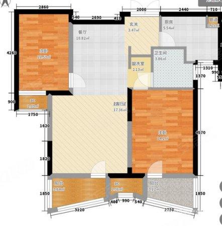 北辰三角洲d3区 潮流设计 开放式厨房 年轻人的不二之选