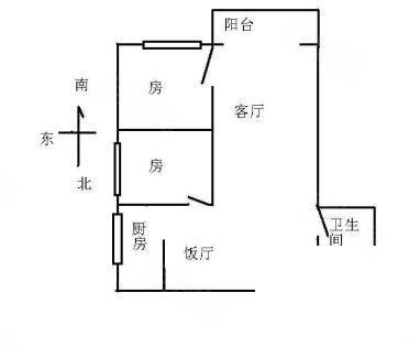 渝北郑家院子轻轨站 天工太阳岛大两房 朝中庭