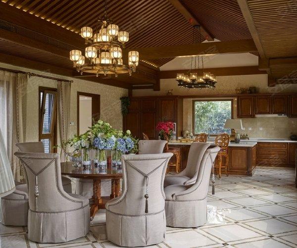 新北京四合院户型, 独栋别墅, 建筑面积约642.00平米