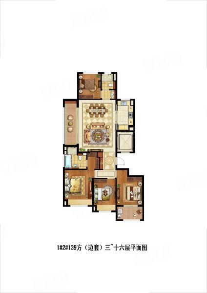 金茂府公租房户型图