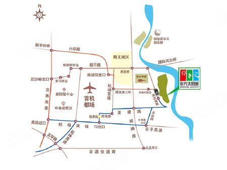 2017桃花源景区地图
