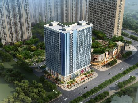 洋湖时代广场项目公寓效果图